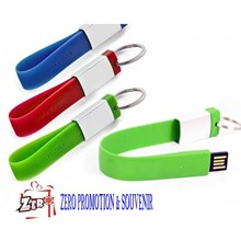Flashdisk Karet Gantungan Kunci fdbr04 USB Karet Gantungan Kunci
