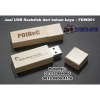 Jual USB flashdisk dari bahan kayu – FDWD01