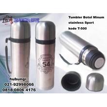 Tumbler Botol Minum stainless Sport – kode T-500