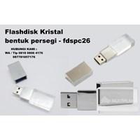 Flashdisk Kristal bentuk persegi fdspc26