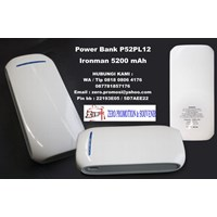 Souvenir Power Bank P52PL12 Ironman 5200 mAh