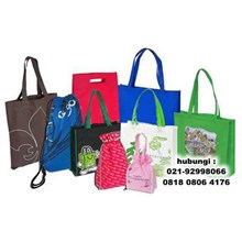 Shopping Bag Screen Printing Promotional Shopping Bag Shopping Bags Tangerang