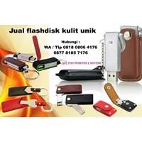 usb flash disk kulit unik menarik harga murah