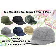 souvenir Topi Cagak 5 Topi forked 5 Topi 5 Panel