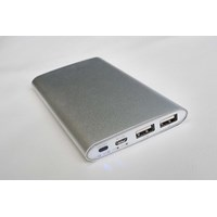 Sell Souvenir Power Bank Metal Slim 6000 mAh tipe P60AL09