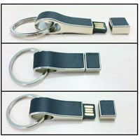 usb flash disk kulit gantungan kunci fdlt22