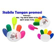 Stabilo Tangan promosi Souvenir stabilo bentuk tan