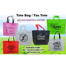 Konveksi tas promosi Vendor Tote bag Spunbond Tang