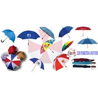Payung Promosi Sablon Logo Payung Souvenir murah