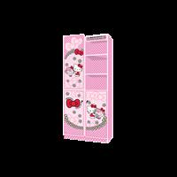 Wardrobe Lemari Pakaian Anak Karakter Hello Kitty Little Miss Hugh WD KT 2180 LMH