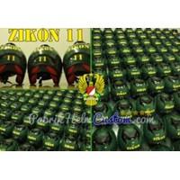 Jual Helm TNI AD Custom