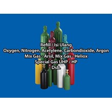 Isi Ulang Tabung Gas Argon Dan Gas Industri Lainnya  [JAKARTA BARAT]