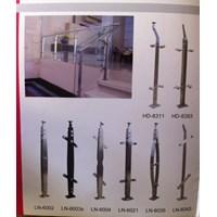 Handrailing tangga Tangga Aluminium