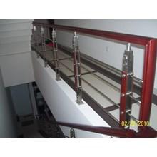 railling tangga minimalis elegan