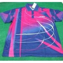 Stiga Tshirt Spirit Printed Red-Blue