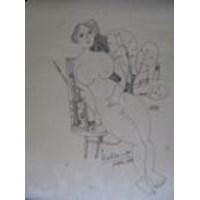 Jual Lukisan H Widayat