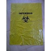 Jual kantong plastik infeksius - kantong plastik warna kuning - plastik sampah kuning