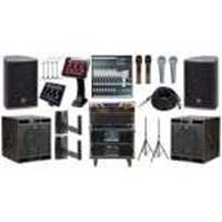 Paket Sound System Karaoke Pro Sedang Rossa