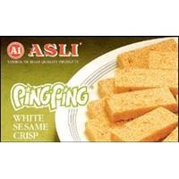 Jual PING-PING (White Sesame Crisp)