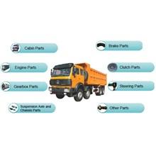 Suku cadang mesin sparepart Dump Truck HINO MITSUB