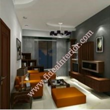 Desain Ruang Keluarga Gandaria