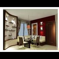 Jual Ruang Keluarga- Contoh Apartemen Mediterania