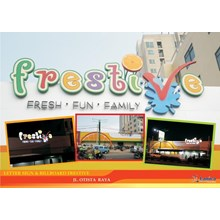 Letter Sign & Billboard Frestive