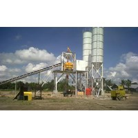 Jual Batching Plant Permanent Wet Mix.