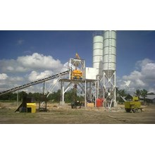 Batching Plant Permanent Wet Mix.