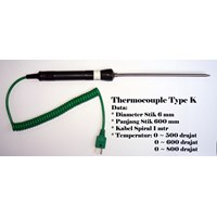 Jual Thermocouple Probe Type K