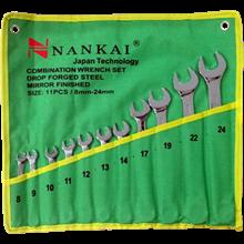 Kunci Ring Pas Set 11 Pc 8-24Mm NANKAI