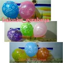 Balon Latex Happy Birthday