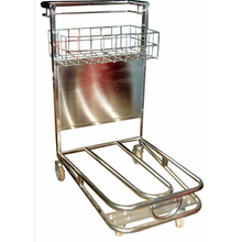 Trolley Bandara- Airport Trolley Stainless