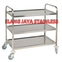 Trolley Stainless-Trolley Makanan
