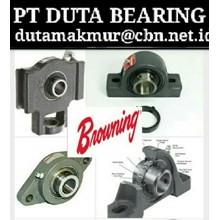 BROWNING MOUNTED BALL BEARINGS PILLOW BLOCK PT DUTA BEARING FLANGE BEARING BROWNING