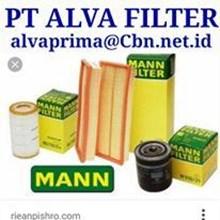MANN FILTER PT ALVA FILTER OIL AIR SARINGAN UDARA