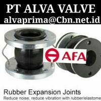 Sell AFA FLEX RUBBER EXPANSION JOINT PT ALVA VALVE RUBBER TWINFLEX