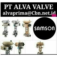 SAMSON VALVE CHECK  PT ALVA GLODOK  SAMSON GLOBE BALL  CONTROL VALVES