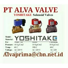 YOSHITAKE VALVE BALL PT ALVA GLODOK  YOSHITAKE GLOBE BALL  CONTROL VALVES