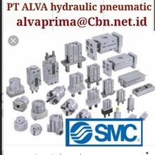PT ALVA SMC PNEUMATIC FITTING SMC VALVE
