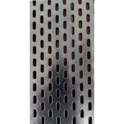 Jual Perforated Slot Hole @ kapsul RE 18 mm x 6 mm in sheet