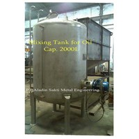 Jual Mixing Tank For Oil Cap 2000L