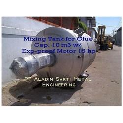 Mixing Tank For Glue Cap. 10 M3 Exp-Proof Motor 15 Hp
