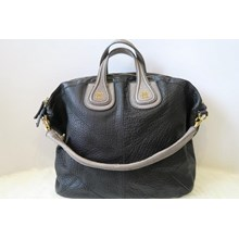 Tas Givenchy Nightingale Large Hobo in Black & Gre
