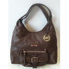 Tas Michael Kors Limited Edition Leather Hobo in Brown