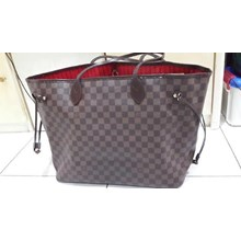 SOLD! Tas Louis Vuitton Neverfull GM in Damier Ebe