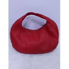 Bottega Veneta Intreciato Nappa in Red