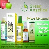 Jual Perawatan Rambut Green Angelica Maximal Treatment