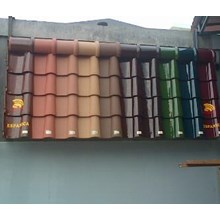 Genteng Keramik Berglazur Kanmuri Tipe Espanica