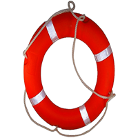 Ring Buoy Or Life Buoy